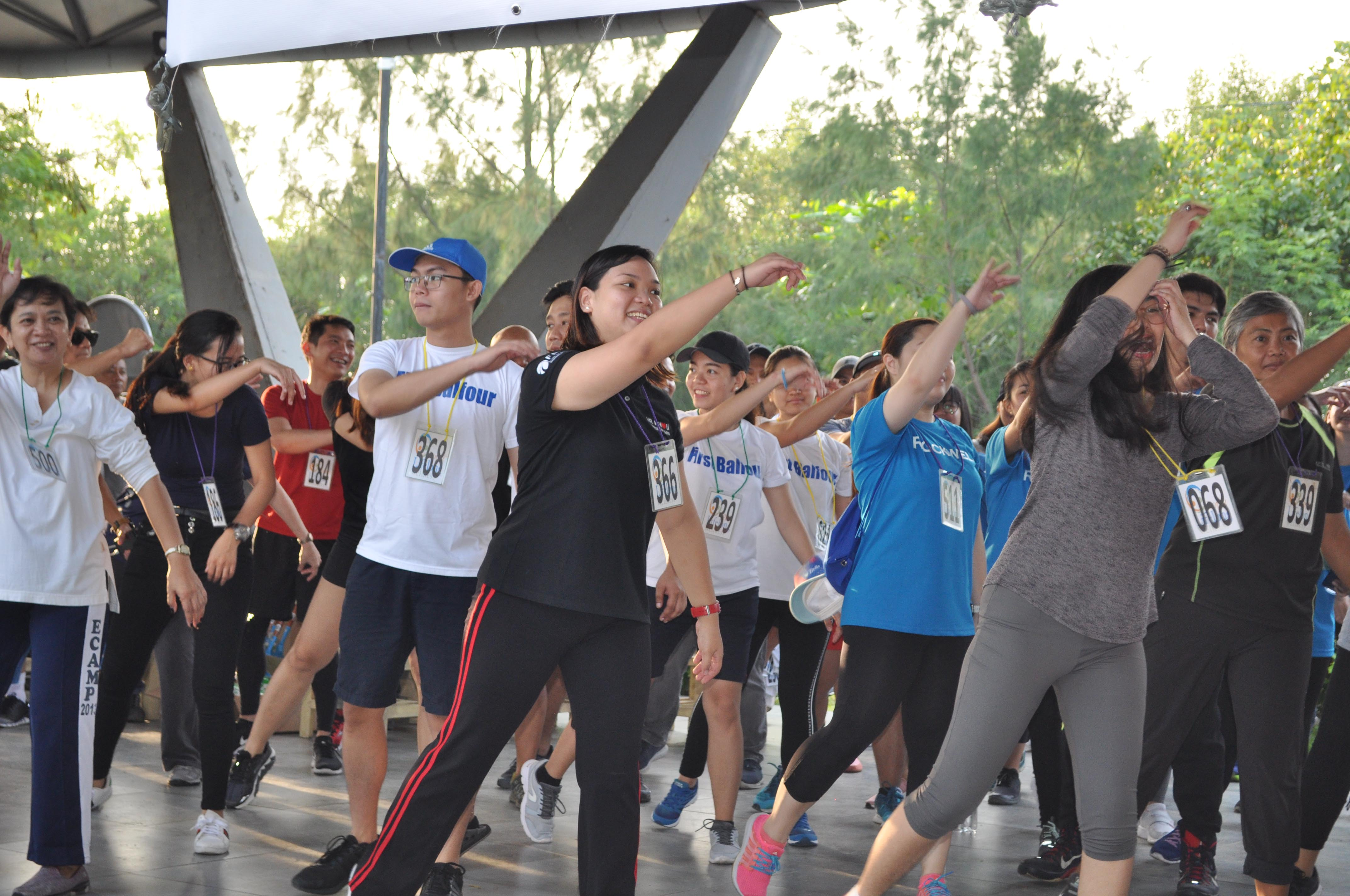 Kapamilya that exercise together