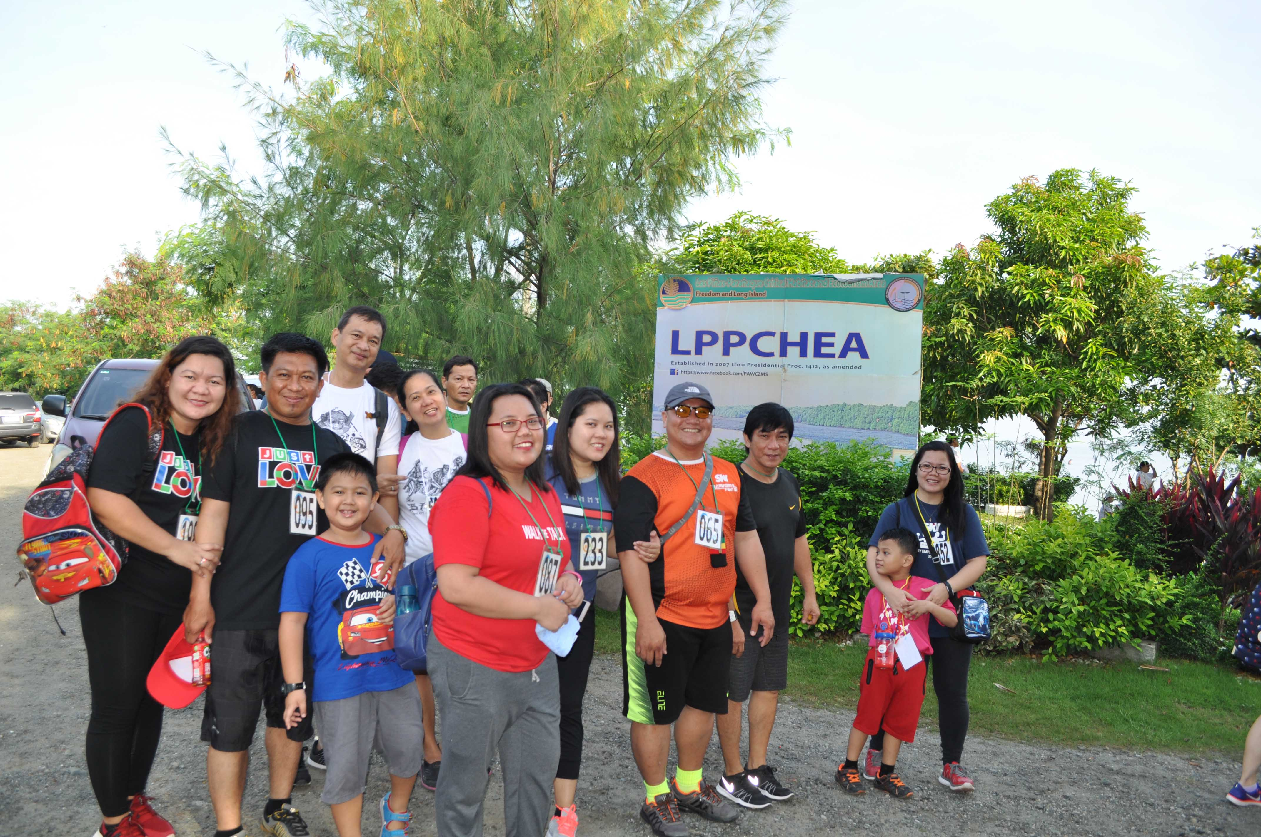 A souvenir shot at the LPPCHEA signboard