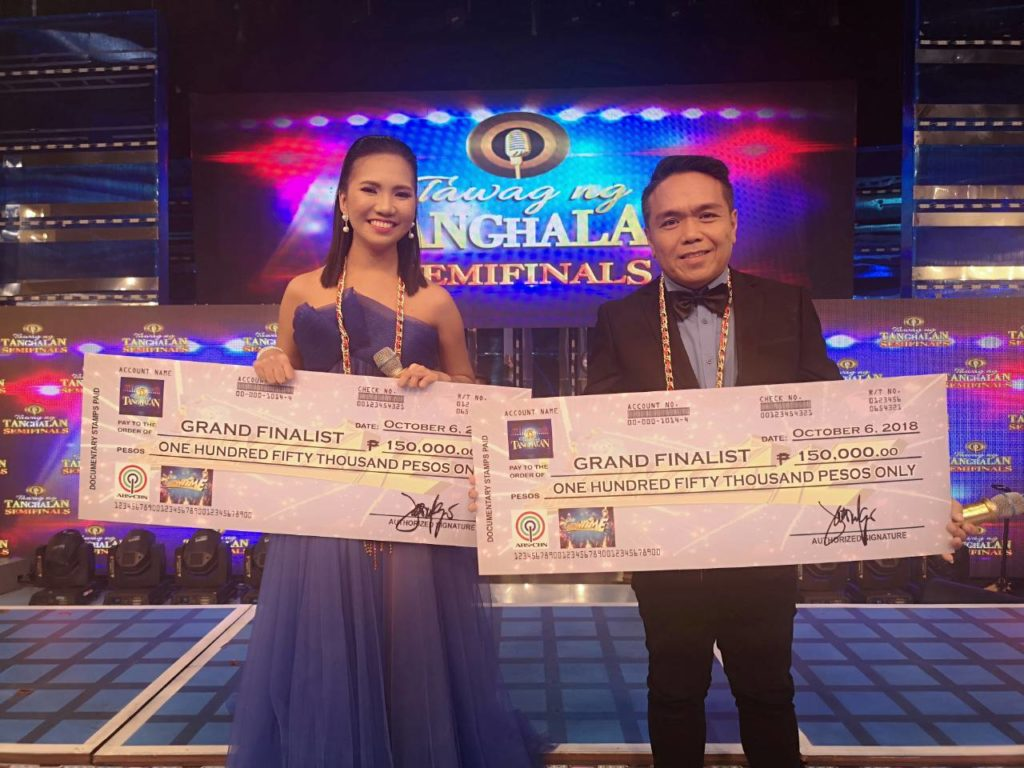 Elaine, Ranillo advance to TNT grand finals
