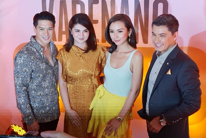 Albert, Dimples, Adrian and Beauty bound by intense love and greed in 'Kadenang Ginto'