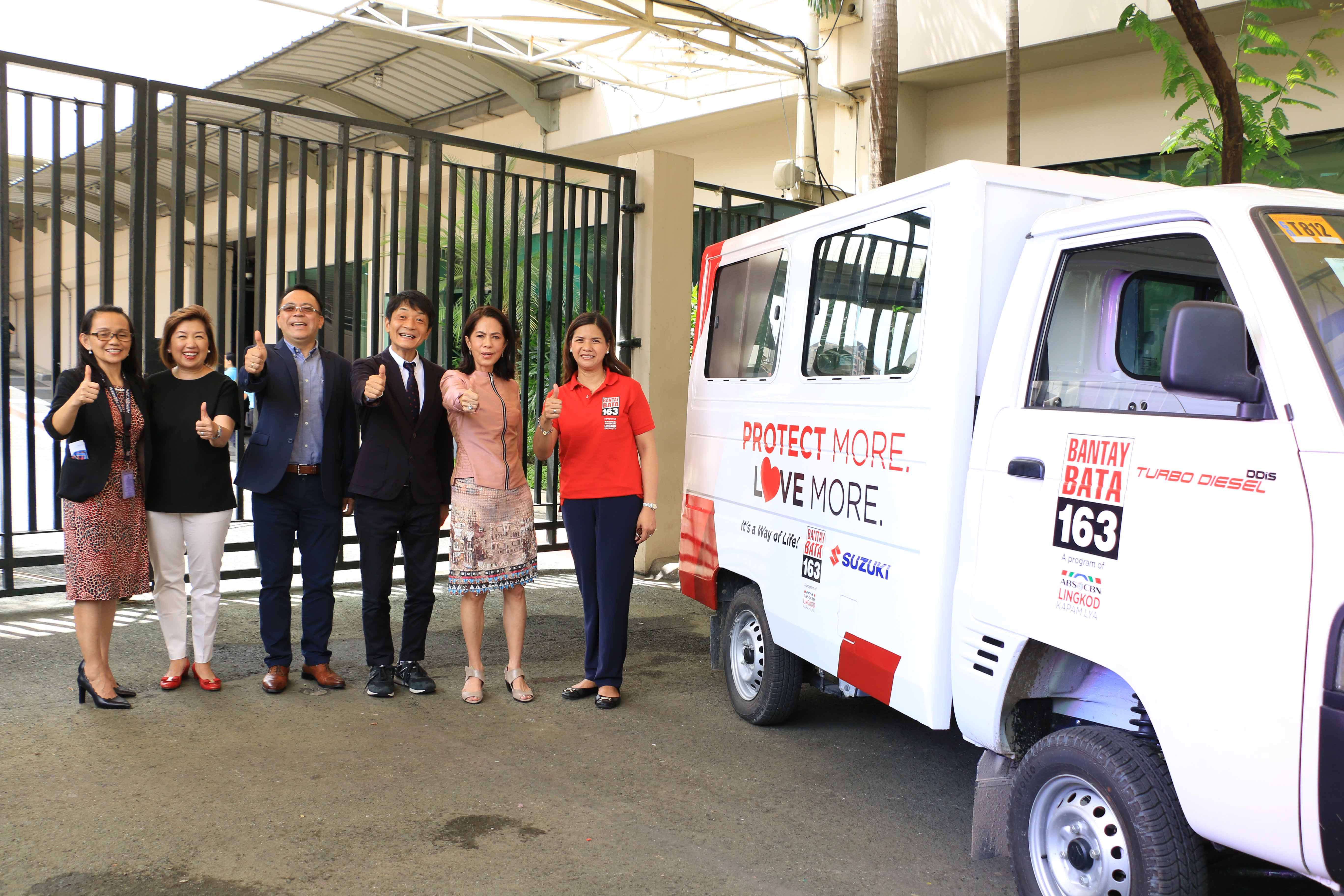 Suzuki donates van, bikes to Children's Village