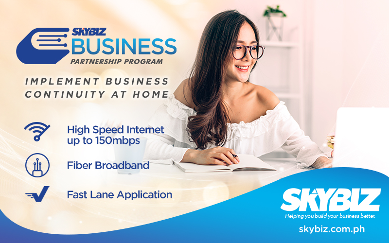 Upgrade your WFH experience with SKYBIZ's HomeBiz plans