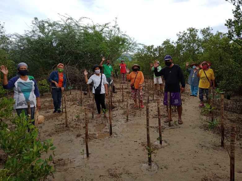 First Gen employees plant 1,000 saplings in 'e-planting'