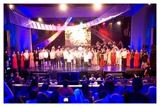 The Global Bayaning Pilipino awardees all in one stage