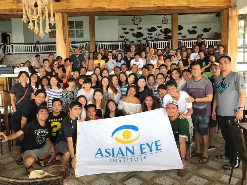 Asian Eye company outing in Batangas