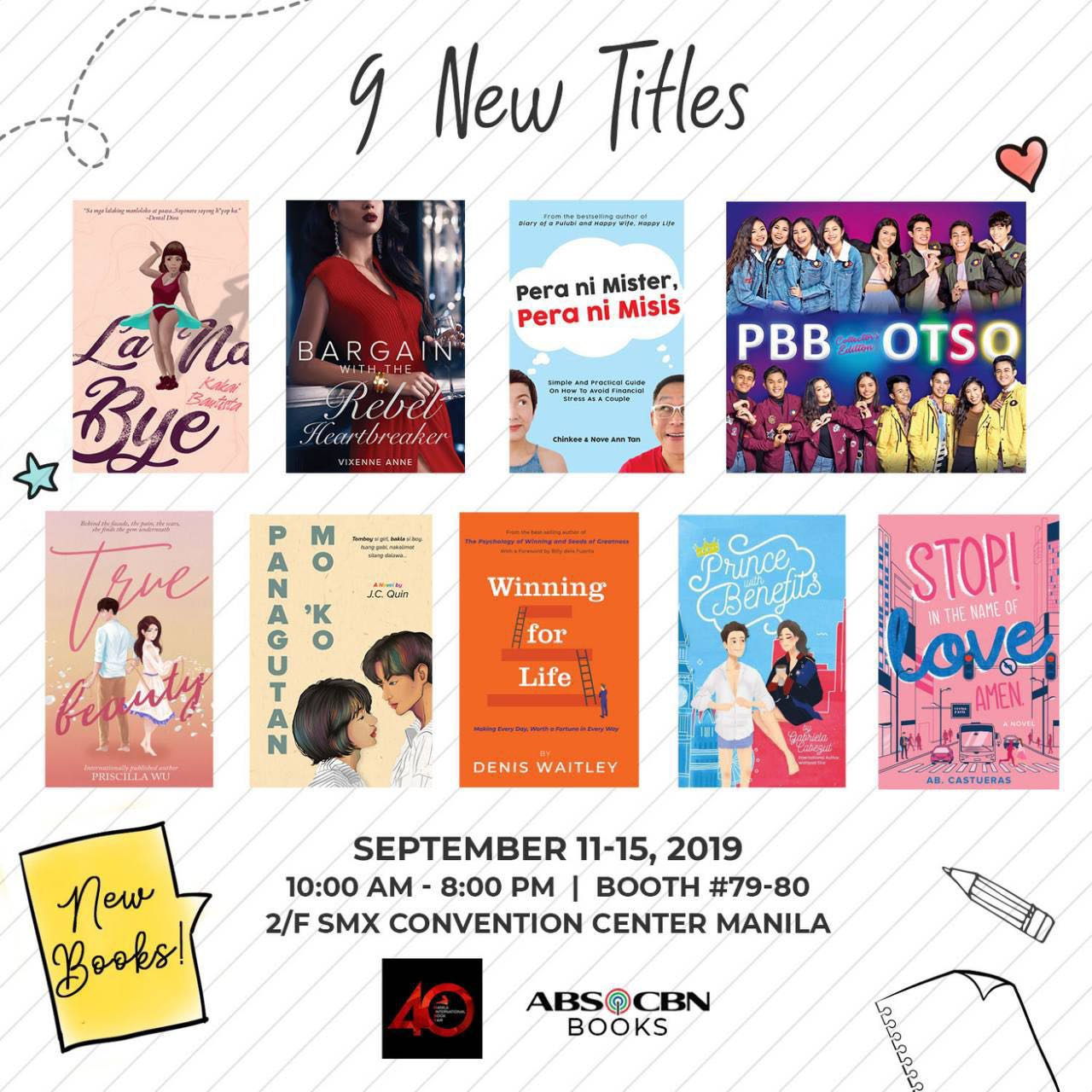 New Reads from ABS-CBN Books