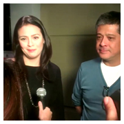Dawn Zulueta and husband Anton Lagdameo