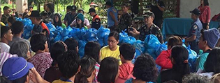 Donate to Operation Sagip Surigao to help earthquake victims