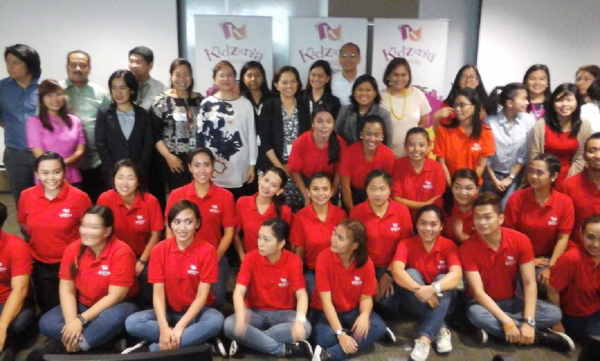 The HR Insights participants with the KidZania staff