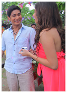 """Walang Hanggan"" stars Coco Martin and Julia Montes share a sweet off-cam moment"