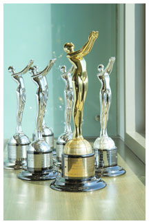 Some of the international creative awards won by ICCM