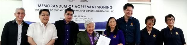KCFI, DepEd renew partnership